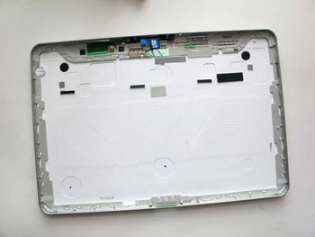 Samsung P7500/P7510 Back Cover with Side Buttons -White from www.parts4repair.com
