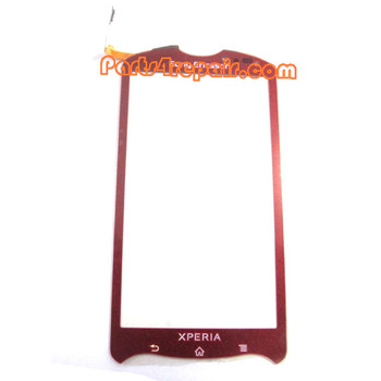Sony Ericsson Xperia Pro Touch Screen with Digitizer -Red from www.parts4repair.com