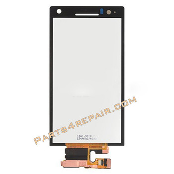 Sony Xperia S Complete Screen Assembly from www.parts4repair.com