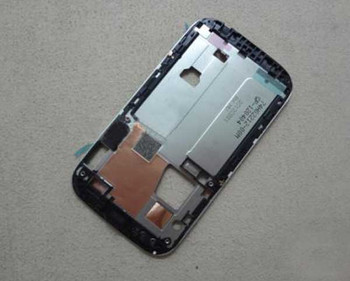 HTC Desire VC Middle Plate -Black from www.parts4repair.com