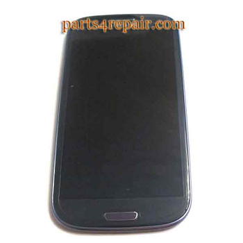 Samsung I9300 Galaxy S III Complete Screen Assembly with Bezel -Blue from www.parts4diy.com