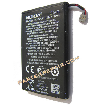 Built-In Battery for Nokia N9 / Lumia 800 from www.parts4repair.com