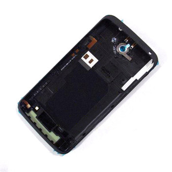 Back Housing Cover with Side Keys for HTC One XL -Black