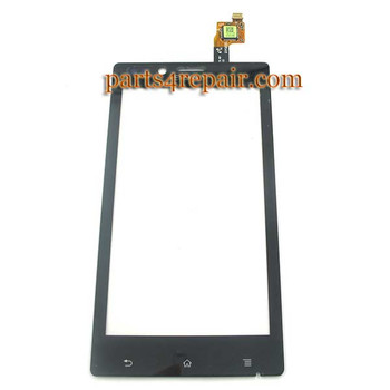 Sony Xperia J ST26I Touch Screen with Digitizer from www.parts4repair.com