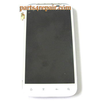 Complete Screen Assembly with Bezel for HTC Sensation XL
