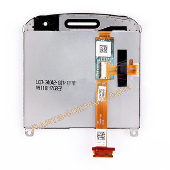 Complete Screen Assembly for BlackBerry Bold Touch 9900(001 Version) -White