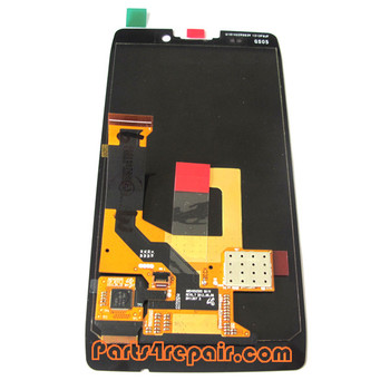 Complete Screen Assembly for Motorola Droid RAZR HD XT926 -Black