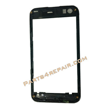 Samsung I8530 Galaxy Beam Front Cover -White from www.parts4repair.com