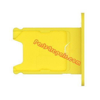 SIM Card Tray for Nokia Lumia 920 -Yellow from www.parts4repair.com