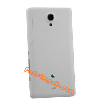Back Cover for Sony Xperia T LT30p -White from www.parts4repair.com