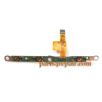 Side Key Flex Cable for Motorola RAZR HD XT925 from www.parts4repair.com