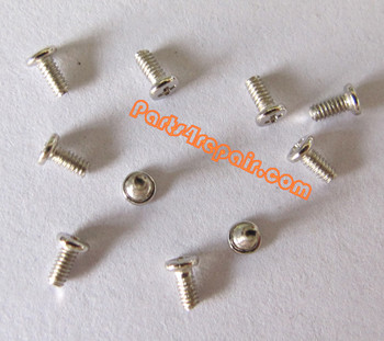 6pcs Universal Screws for LG Cellphone -White from www.parts4repair.com