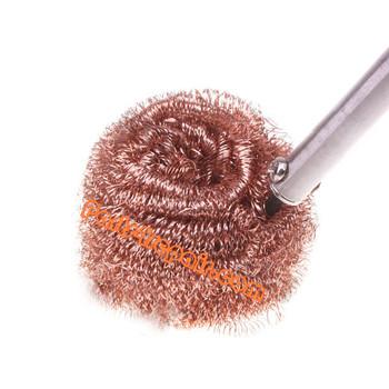 Lead Free Solder Tip Steel Wire Sponge Cleaner Tool