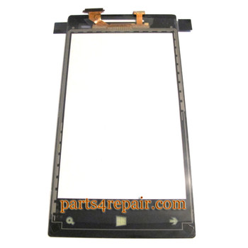 We can offer Touch Screen Digitizer for HTC Windows 8S -Light Yellow