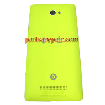 Back Cover for HTC Windows Phone 8X (HTC Version)-Yellow