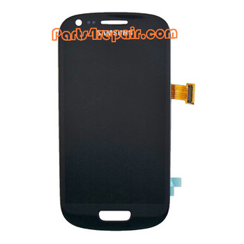 Samsung I8190 Galaxy S III mini Complete Screen Assembly -White from www.parts4repair.com
