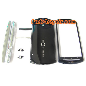 Sony Ericsson Xperia Neo V Full Housing Cover -Blue from www.parts4repair.com