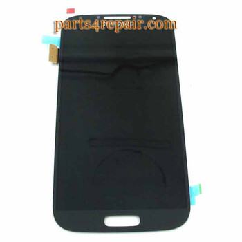 Complete Screen Assembly for Samsung I9505 Galaxy S4 -Blue