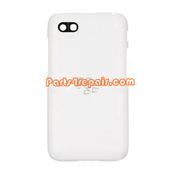 Back Cover for BlackBerry Q5 -White from www.parts4repair.com