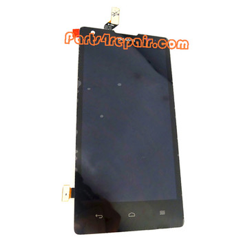 Complete Screen Assembly for Huawei Ascend G700 -Black