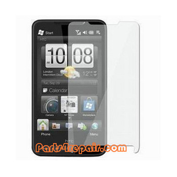 Clear Screen Protector Shield Film for HTC HD2