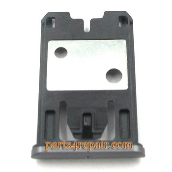 SIM Tray Holder for Nokia Lumia 925 -Black from www.parts4repair.com