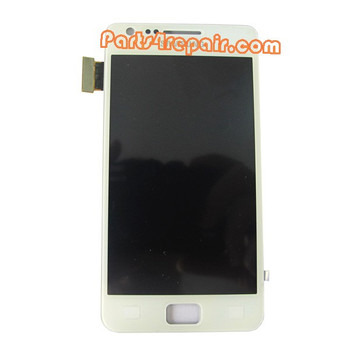 Generic Complete Screen Assembly for Samsung I9105 Galaxy S II Plus -White