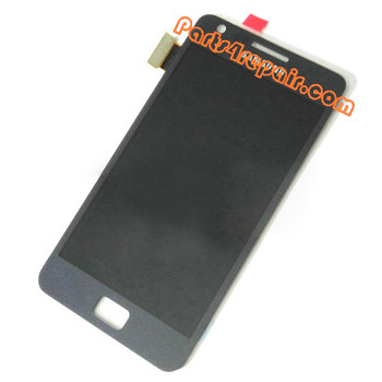 Generic Complete Screen Assembly for Samsung I9105 Galaxy S II Plus -Blue