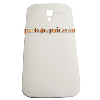Back Cover for Motorola Moto X XT1058 -White (Plastic)