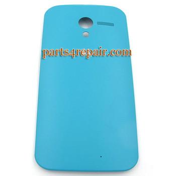 Generic Back Cover for Motorola Moto X XT1058 -Light Blue