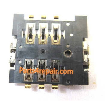 SIM Contact Holder for BlackBerry Bold 9790 from www.parts4repair.com