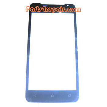 Front Glass Lens for HTC One J Z321E from www.parts4repair.com