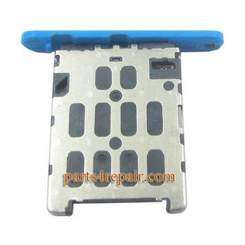 SIM Tray Holder for Nokia Lumia 720 -Blue