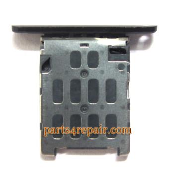 SIM Tray Holder for Nokia Lumia 720 -Black