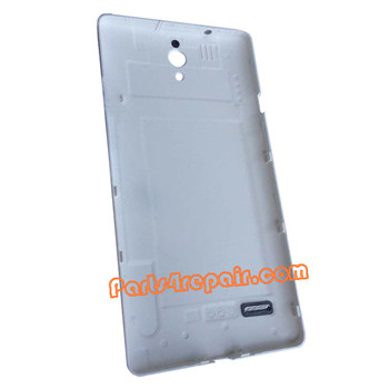 Back Cover for Huawei Ascend G700 -White from www.parts4repair.com