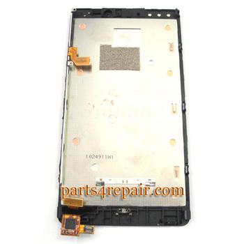 Nokia Lumia 920 Full Screen Assembly with Bezel Generic