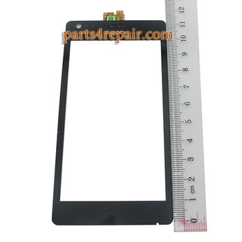 Touch Screen Digitizer for Sony Xperia M C1905 -Black from www.parts4repair.com