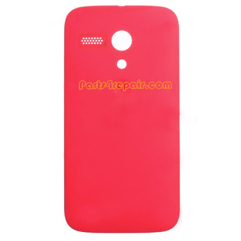Back Cover for Motorola Moto G XT1032 -Red from www.parts4repa