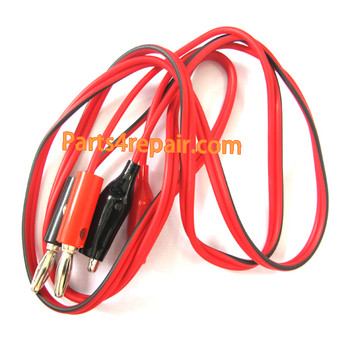 5pcs Alligator Clip Test Leads -Red from www.parts4repair.com