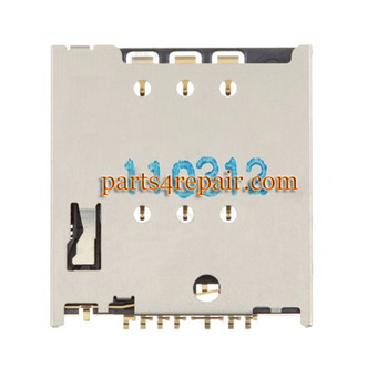 SIM Contact Connector for Motorola Moto G XT1032 from www.parts4repair.com