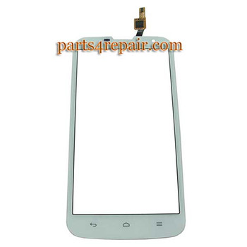 Touch Screen Digitizer for Huawei Ascend G730 -White from www.parts4repair.com