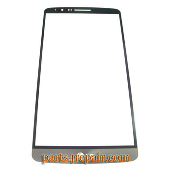 Front Glass for LG G3 -Black from www.parts4repair.com