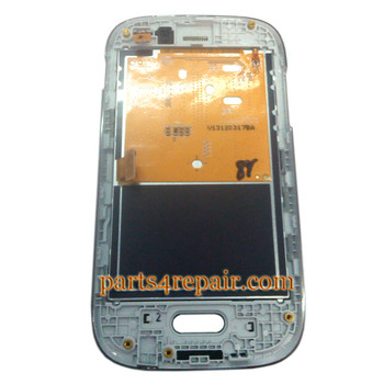 We can offer Complete Screen Assembly with Bezel for Samsung Galaxy Fame S6810 -White
