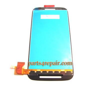 We can offer Complete Screen Assembly for Motorola Moto E XT1021 -Black