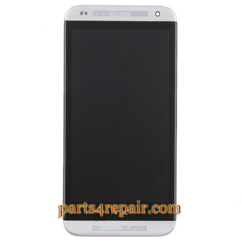 Complete Screen Assembly with Bezel for HTC Desire 601 -White