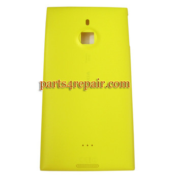 Back Cover OEM for Nokia Lumia 1520 -Yellow from www.parts4repair.com