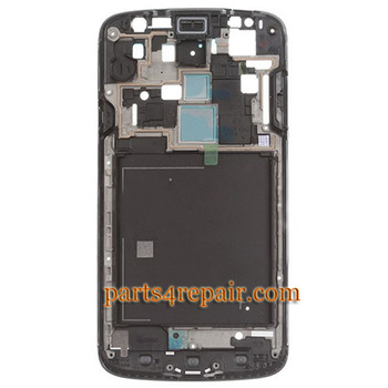 Front Housing Cover for Samsung I9295 Galaxy S4 Active -Silver