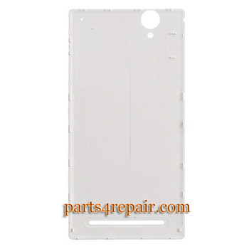 We can offer Back Cover for Sony Xperia T2 Ultra XM50H -White