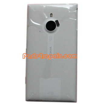 Back Housing Assembly Cover for Nokia Lumia 1520 White from www.parts4repair.com