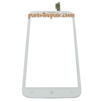 Touch Screen Digitizer for Lenovo A850 -White from www.parts4repair.com